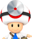 Sprite of Dr. Toad from Dr. Mario World
