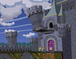 Hooktail Castle from Paper Mario: The Thousand-Year Door