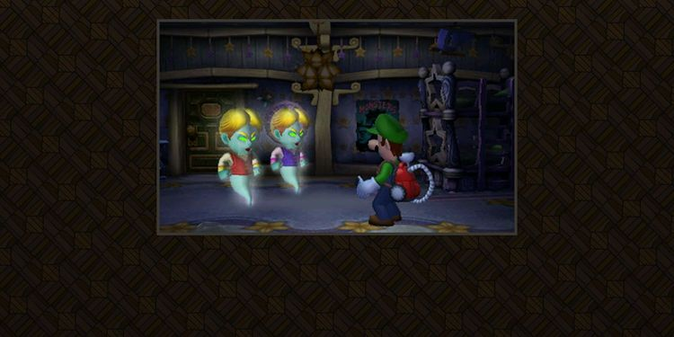 Picture shown with the third question in Luigi's Mansion Fun Online Trivia Quiz