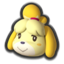 Isabelle's icon, from Mario Kart 8.