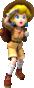 Peach (Explorer) from Mario Kart Tour