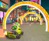 The icon of the Koopa Troopa Cup challenge from the 1st Anniversary Tour in Mario Kart Tour