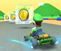 The icon of the Donkey Kong Cup challenge from the 2019 Winter Tour and the Koopa Troopa Cup challenge from the Berlin Tour in Mario Kart Tour