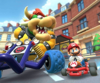 The Bowser Cup Challenge from the London Tour of Mario Kart Tour