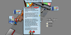 Screenshot of Mini-Mario Factory Game!