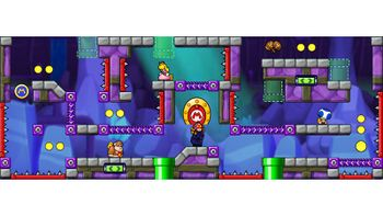 Miiverse screenshot of the 70th official level in the online community of Mario vs. Donkey Kong: Tipping Stars