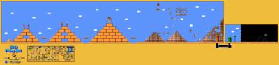 Super Mario Bros. 3 World 2-3 Map