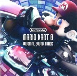 The cover for the Mario Kart 8 Original Soundtrack.