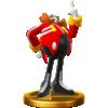Dr. Eggman's trophy render, from Super Smash Bros. for Wii U.