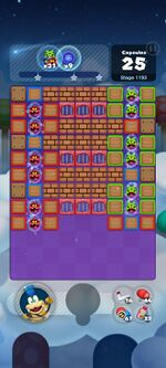 Stage 1193 from Dr. Mario World