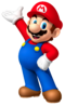 Mario's artwork from Fortune Street