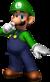Artwork of Luigi for Mario Party 7.