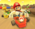 The icon of the King Boo Cup challenge from the 2019 Winter Tour in Mario Kart Tour