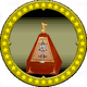 A figure of a Mysterious Metronome.