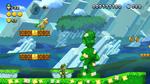 Luigi sighting in Piranha Gardens from New Super Luigi U