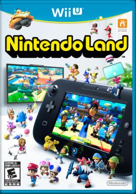 Nintendo Land North American box cover