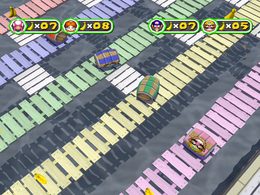 Pier Factor from Mario Party 6