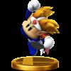 Knuckle Joe's trophy render from Super Smash Bros. for Wii U