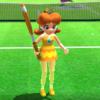 Princess Daisy's taunt from Mario Sports Superstars