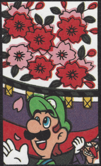 First card of March in the Club Nintendo Hanafuda deck.