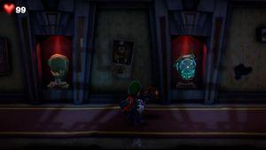 The RIP Suites Hallway in Luigi's Mansion 3
