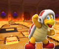 GBA Bowser's Castle 2 from Mario Kart Tour