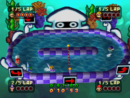 Water Whirled from Mario Party 3.