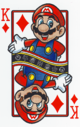 The King of Diamonds card from the NAP-02 deck.