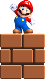 Mini Mario from New Super Mario Bros. U.