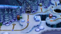 Frosted Glacier in New Super Mario Bros. U