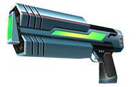 Artwork of a Ray Gun from Super Smash Bros. Brawl.