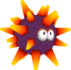 The Urchin's model from Super Mario Galaxy