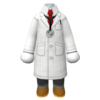 "The ""Doctor Coat"" Mii costume"