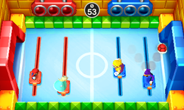 Speed Hockey from Mario Party: The Top 100