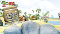 A Dilapidated Barrel in Donkey Kong Country: Tropical Freeze