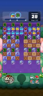 Stage 1075 from Dr. Mario World