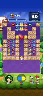 Stage 279 from Dr. Mario World since March 18, 2021
