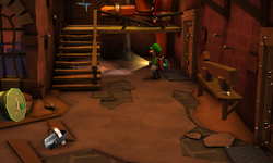 The Finishing Room segment from Luigi's Mansion: Dark Moon.