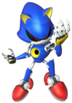 Metal Sonic from Mario & Sonic at the Rio 2016 Olympic Games