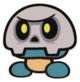 Bone Goomba sprite from Paper Mario: Color Splash
