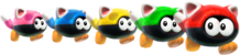 Cat Biddybuds from Super Mario 3D World + Bowser's Fury