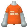 """The """"Fire Mario Shirt"""" Mii top"""