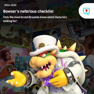 Icon for Super Mario Odyssey Fun Trivia Quiz