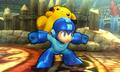SSB4 3DS - Pikachu on Mega Man.png