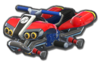 Standard ATV body from Mario Kart 8