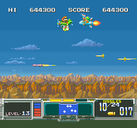 Mario and Lemmy Koopa's cameo in Super Scope 6.