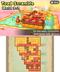 World 3-2 from Mario Party: Star Rush