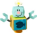 A Blockafeller in Yoshi's Crafted World.