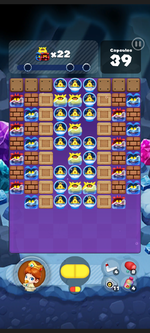 Stage 506 from Dr. Mario World