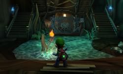 The Hollow Tree segment from Luigi's Mansion: Dark Moon.